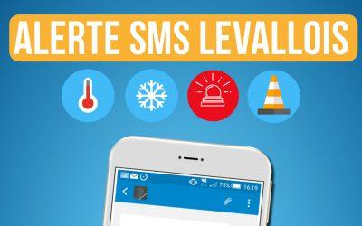 «Alerte SMS Levallois» Service gratuit de télé-alerte