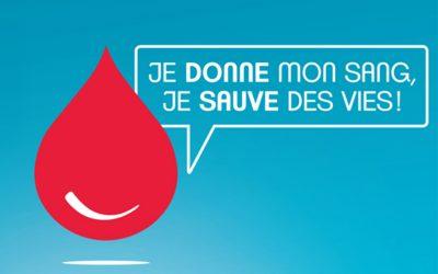 18 et 19 novembre 2019 – Don du sang