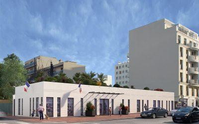 Médiathèque Albert-Camus – Projet de rénovation Camus 2022