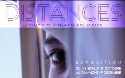 Du 11 octobre au 1er décembre 2019 – Exposition «Distances» du Collectif X23 du Photo Club