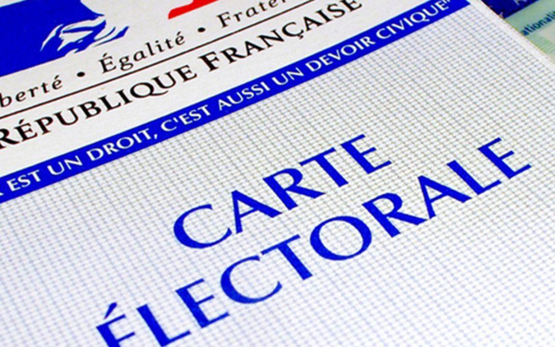 Inscription sur la liste électorale jusqu'au 07/02/2020