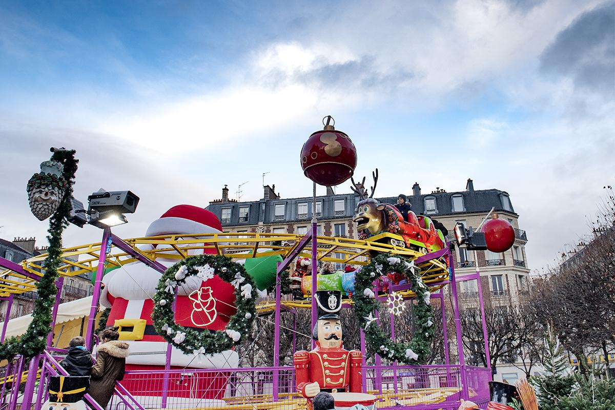 Fête foraine de Noël Levallois - Noël 2017