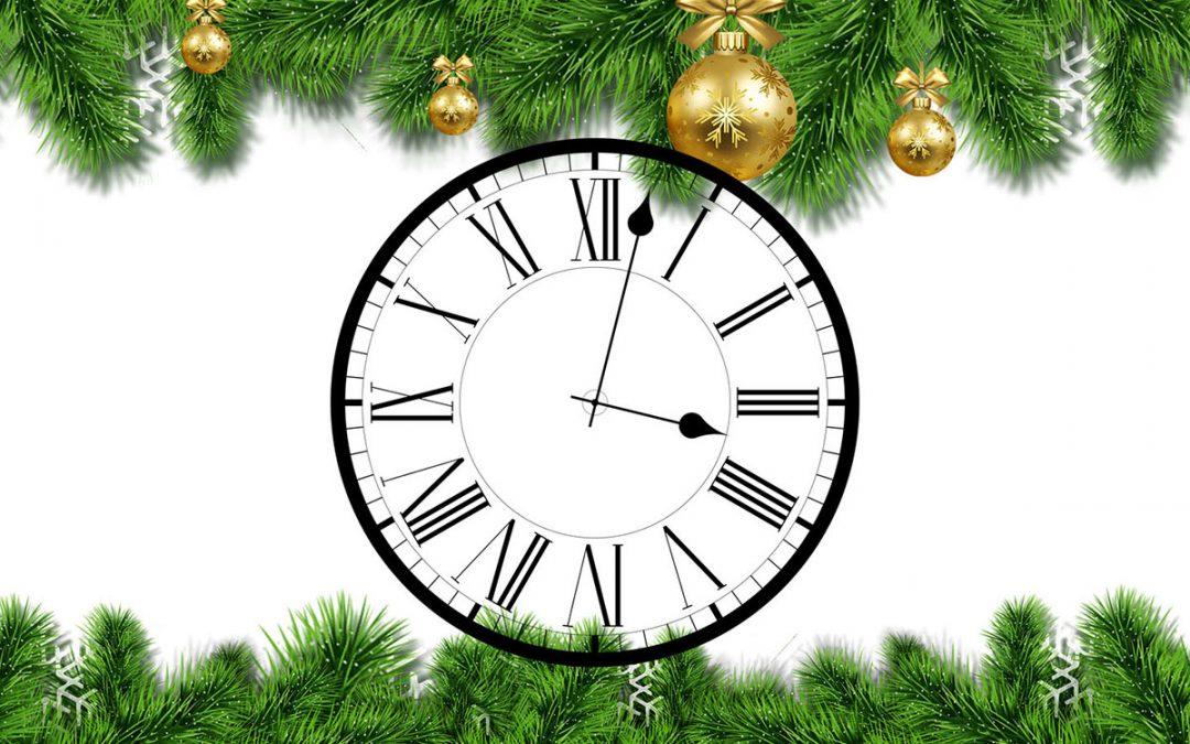 Horaires des vacances de Noël