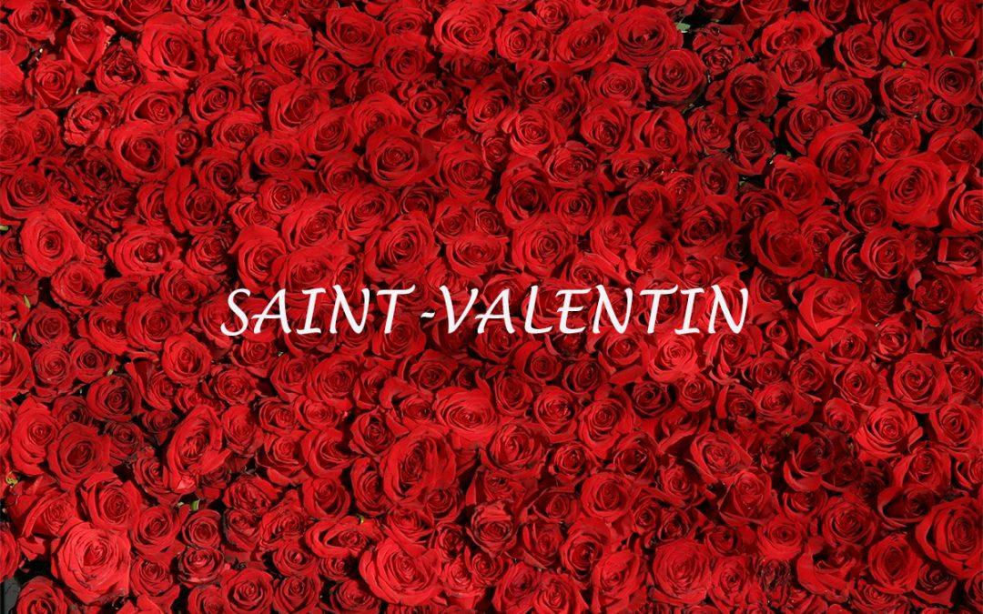 Saint Valentin – Affichez votre amour !