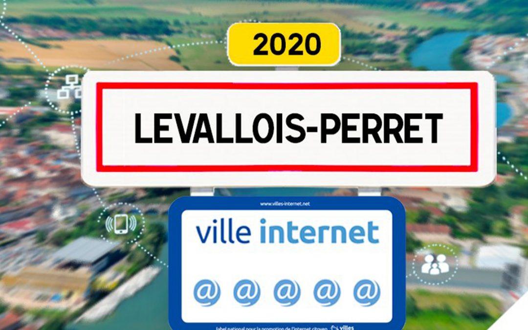 La Ville de Levallois labellisée Ville Internet avec 5@