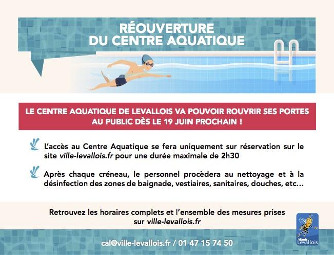 Reouverture Du Centre Aquatique De Levallois Ville De Levallois