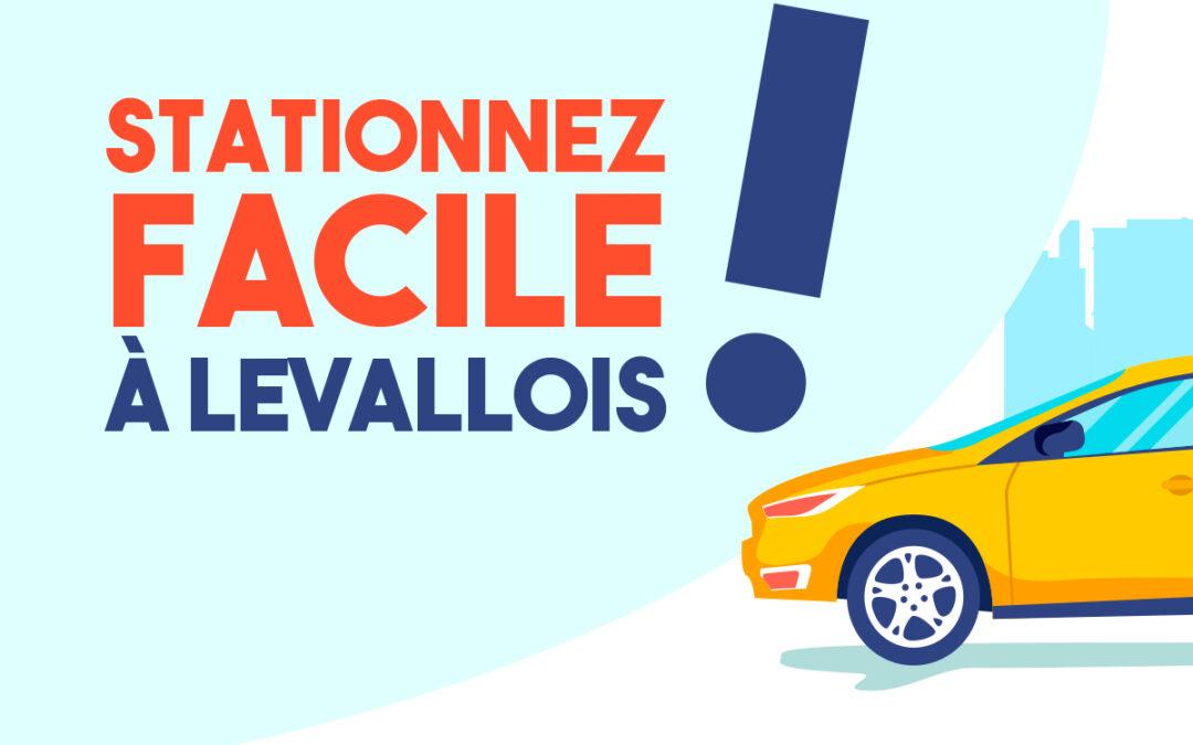 Stationnez facile à Levallois !