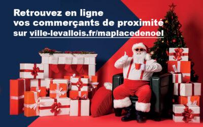 La Ville de Levallois lance le portail e-commerce « MA PLACE DE NOËL » !
