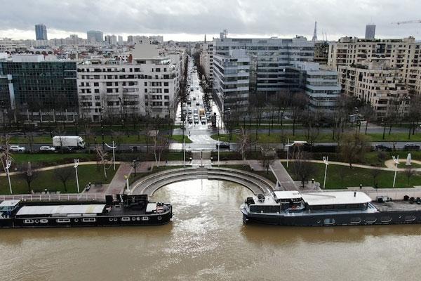 Vidéo : la crue de la Seine en images