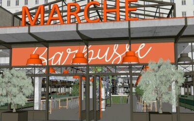 Le nouveau Marché Henri-Barbusse va dynamiser le cœur de Ville