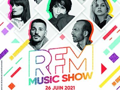 L'été en musique avec le RFM MUSIC SHOW le 26 juin