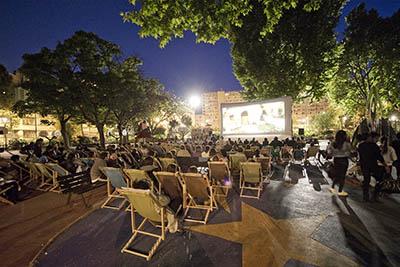 9 juillet : La Nuit du cinéma dans les Jardins de l'Hôtel de Ville