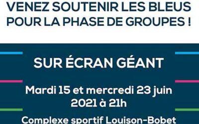 Euro 2021 : soutenez les Bleus au complexe Louison-Bobet